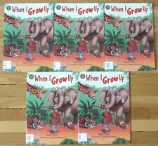 Lot 5 WHEN I GROW UP Guided Reading Set, Unit 7 Rigby L86