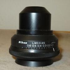 Nikon LWD 0.65 Microscope Condenser