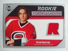 2005-06 Upper Deck Rookie Threads Kevin Nastiuk Carolina Hurricanes - Jersey RED