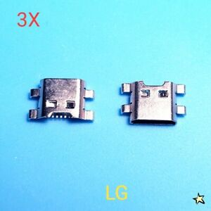 3X LG K30 X410ULML X410ULMG X410TK Charger USB Charging Port Dock Connector