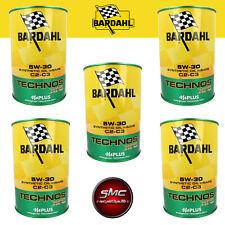 Kit olio motore Bardahl Technos XFS C2 C3 5W30 5 Litri