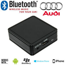 Audi coche Bluetooth Aux Música Iphone Samsung Sony Smartphone Interface Adaptador