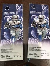 Dallas Cowboys vs Minnesota Vikings 11/10/19 Unused Ticket - Ezekiel Elliott