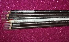 LOT OF 6  Brow eye liner pencil wet n wild coloricon #608A,602A,652 3X #603A