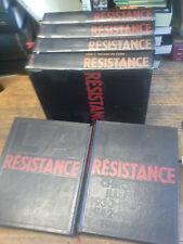 La Résistance Chronique illustrée 1930-1950 /  5 tomes + dossier fac-similés