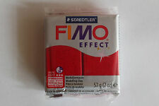Fimo Modelliermasse FIMO® soft, Effekt Glitter rot