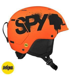 SPY Astronomic Snow Ski Snowboard Helmet Youth Kid Matte Orange EXPRESS SHIPPING