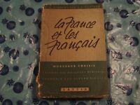 SCARAMUZZA / VENTURA - LA FRANCE ET LES FRANCAIS Ed. Lattes 1954