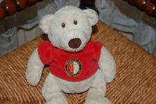 Dutch Feyenoord Soccer Club Rotterdam Beige Bear RARE Baby Safe 9 inch