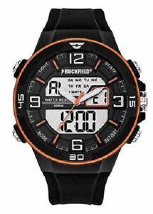 Ruckfield 685060 Herrrenuhr, Armbanduhr mit Silikon Band