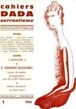 CAHIERS DADA SURREALISME. N. 1, 1966