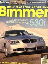 Bimmer BMW Magazine E60 530i Sedan Performance May 2004 020718nonrh