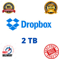 Dropbox Premium 2TB ✔️ Lifetime Account 👑 Custom Account ✔️ Fast Delivery