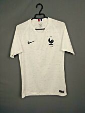 France Jersey 2018/20 Away SMALL Shirt Mens Maillot White Nike 893871-100 ig93