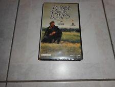 """Film  """" Danse avec les Loups """" Cassette VHS  Kevin Costner"""