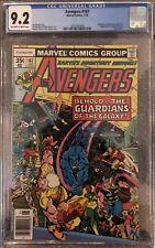 Avengers #167 CGC 9.2 OW/W Korvac Saga Part 2 Guardians Of The Galaxy Cover MCU