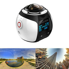360° 4K HD 1080P Recorder Camera Ultra Wifi DVR VR Video Sports Action Dash Cam