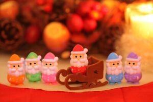 Novelty Japanese IWAKO Christmas Puzzle Eraser Rubbers - IWAKO Santa Erasers