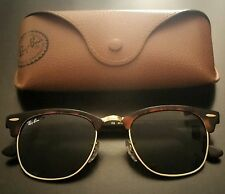 RAY BAN RB 3016 w0366 Clubmaster taille 51 Original Neuf Lunettes