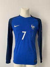 Maillot Porté / Préparé Griezmann France Allemagne Euro 2016 Match Worn Shirt