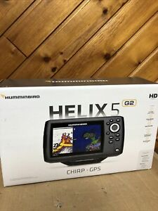 HUMMINBIRD HELIX 5 Chirp GPS G2 Fish finder Brand New