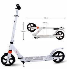 Push Folding Scooter 200mm Big Wheels  Adult Commuter Child Gift