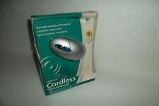 Logitech Cordless Optical Mouse 3-Button Scroll-Wheel w/Receiver 931187-0403 NEW