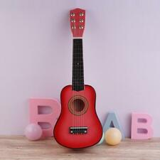 """21"""" Beginners Acoustic Guitar 6 String with Pick Children Kids .Birthday  New"""