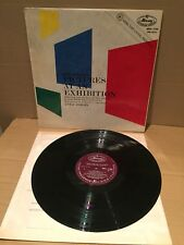 MOUSSORGSKY PICTURES AT AN EXHIBITION DORATI LP. FACTORY SAMPLE