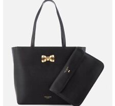 c780c660c24d6 Ted Baker London Shopper Bag with Bow - Black 2 Pics Set With Wallet Size  Medium