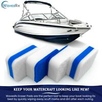 WAVESRX Marine Scuff and Dirt Eraser Sponges for Boats, Jet Ski & PWC