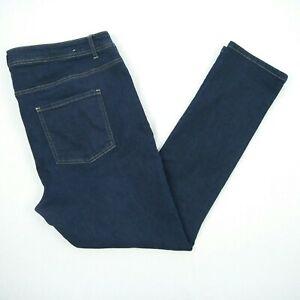 Breakers - Skinny Dark Blue Stretch Denim Jeans Women's Size 18 W39