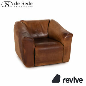 Sede DS 47 Leather Armchair Braun Function Vintage