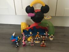 Disney Mickey Mouse Clubhouse Playset House Plane Figures Accessories