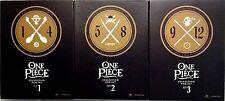 One Piece No. 1, 2, & 3 Collection Box Set: Shonen Jump DVD Series 1-12 Ep.1-299