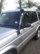 Land Rover Discovery 2 Snorkel  Black Powder Coated Stainless Pipe..