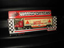 MATCHBOX SUPER STARS NASCAR TRANSPORTER #21 CITGO WOOD BROTHERS FORD  1993