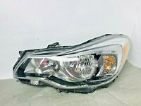 OEM 2012 2013 2014 Subaru Impreza Crosstrek Left LH Halogen Headlight Damaged