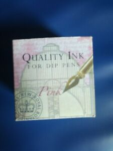 Great price! Quality Ink for Dip Pen - Pink - from Kew Royal Botanical Gardens
