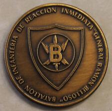 El Salvador Belloso Battalion Special Forces Challenge Coin