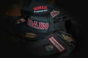Support Idaho 81 Hells Angels Fitted Cap