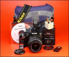 Cámara SLR Nikon D3200 D + AF-S 18-55mm VR Zoom Kit de Lente Con Batería Y Cargador