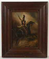 """Horace Vernet """"Oil study for lost equestrian portrait of Prince Friedrich"""",1825"""