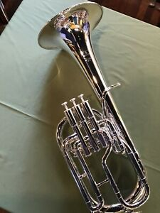 Besson BE152 Tenor Horn in Silver