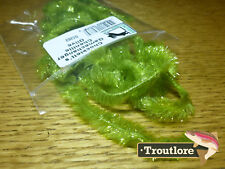 Olive Chockletts Gamechanger Chenille Hareline Fly Tying Materials