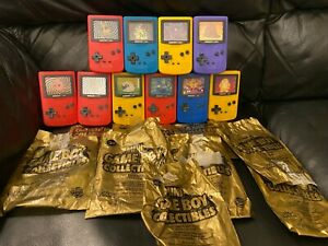 2000 Burger King Pokemon Mini Game Boy Collectible Lot 10 Included