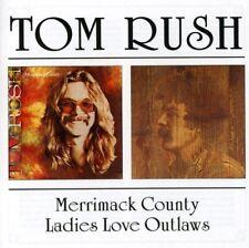 Tom Rush - Merrimack County/Ladies Love Outlaws (2000)  CD  NEW  SPEEDYPOST