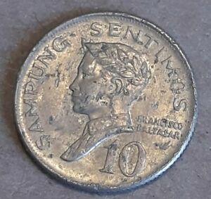 PHILIPPINES    10   SENTIMOS   1967