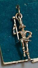 Bracelet H33 Drum Major Sterling Silver Vintage Charm