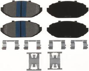 Disc Brake Pad Set-TitaniuMetallic II Disc Brake Pad Front Bendix MKD748